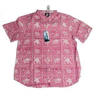 Reyn Spooner Mens Hawaiian Shirt Size XXL Lahaina